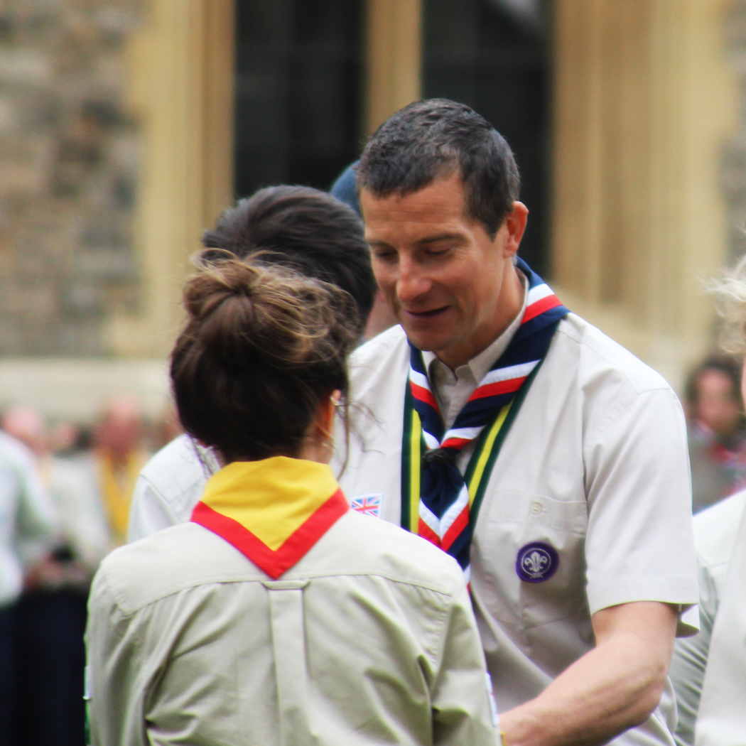 St George's Day National Parade of Queen Scouts 2019