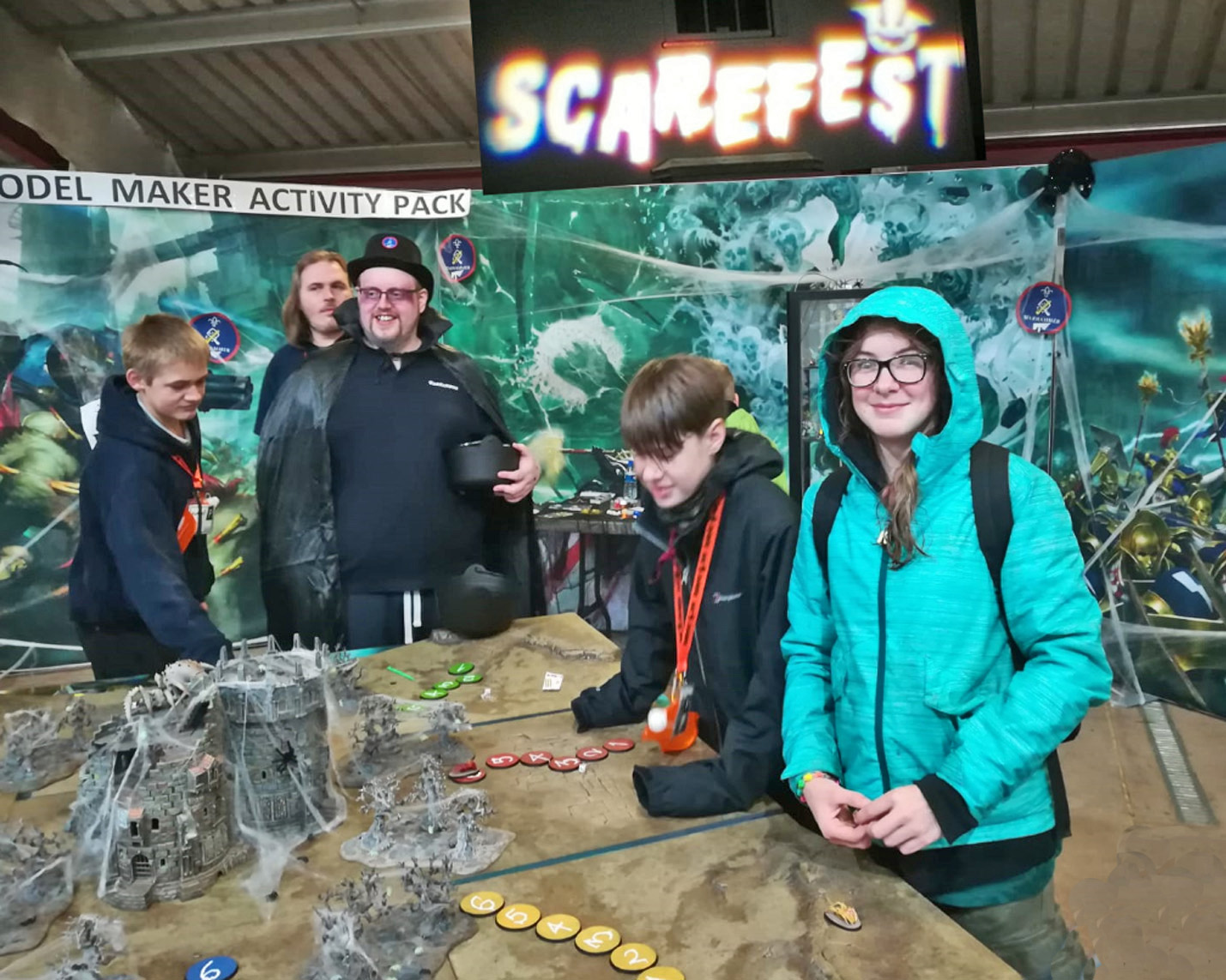 Scouting Blast at Gilwell Scarefest 2019