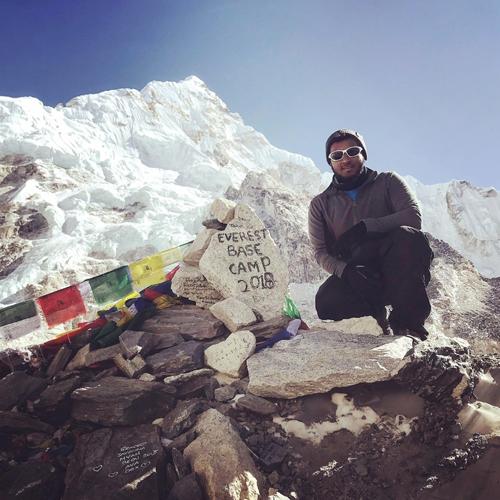 Abbas' Everest Mountain Challenge
