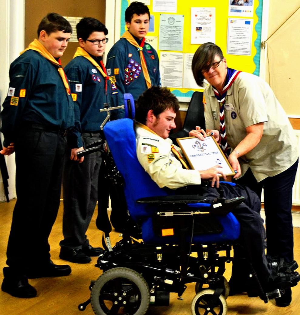 Chief Scout Diamond Award
