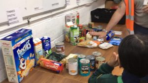 Beech Hill Cubs Support Luton Food Bank Luton District