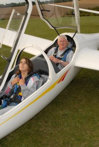 E 0811 Hannah Pike with instructor Andrew Sampson