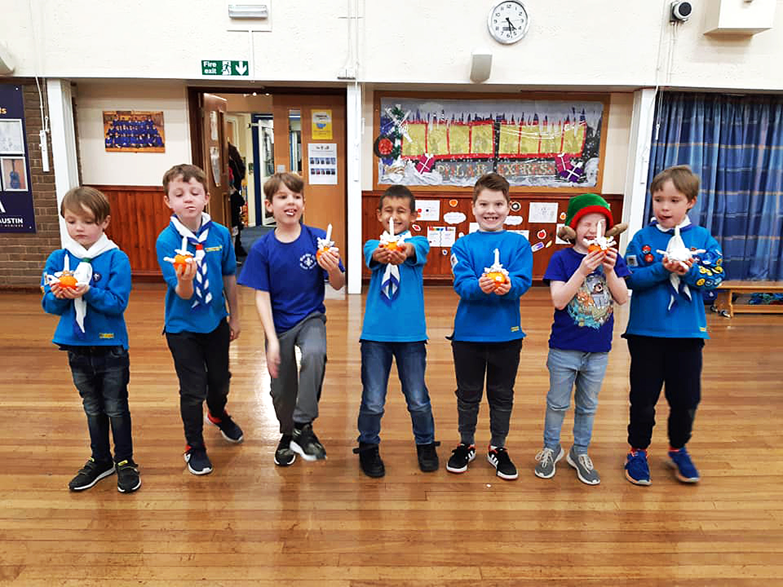 Icknield District Beavers Scout Annual 2019 Christingle