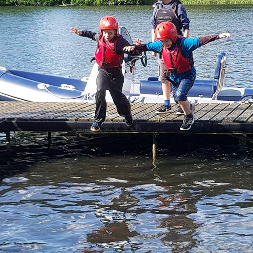 500 Scouts take to the water at Luton Hoo