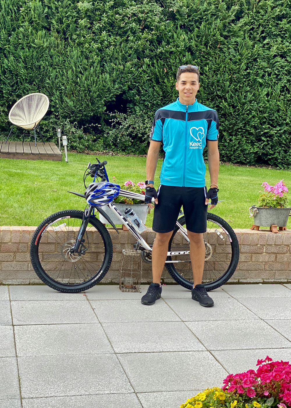 Keelan Pannell's  St. Joseph's Scout Leader  Keech Cycling Challenge