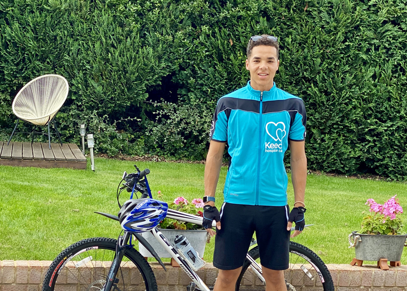 St. Joseph's Scout Leader  Takes On Keech Cycling Challenge