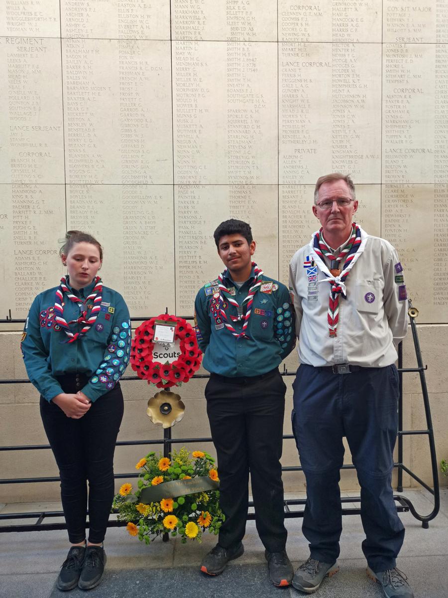 Leagrave Scout Group visit Belgium