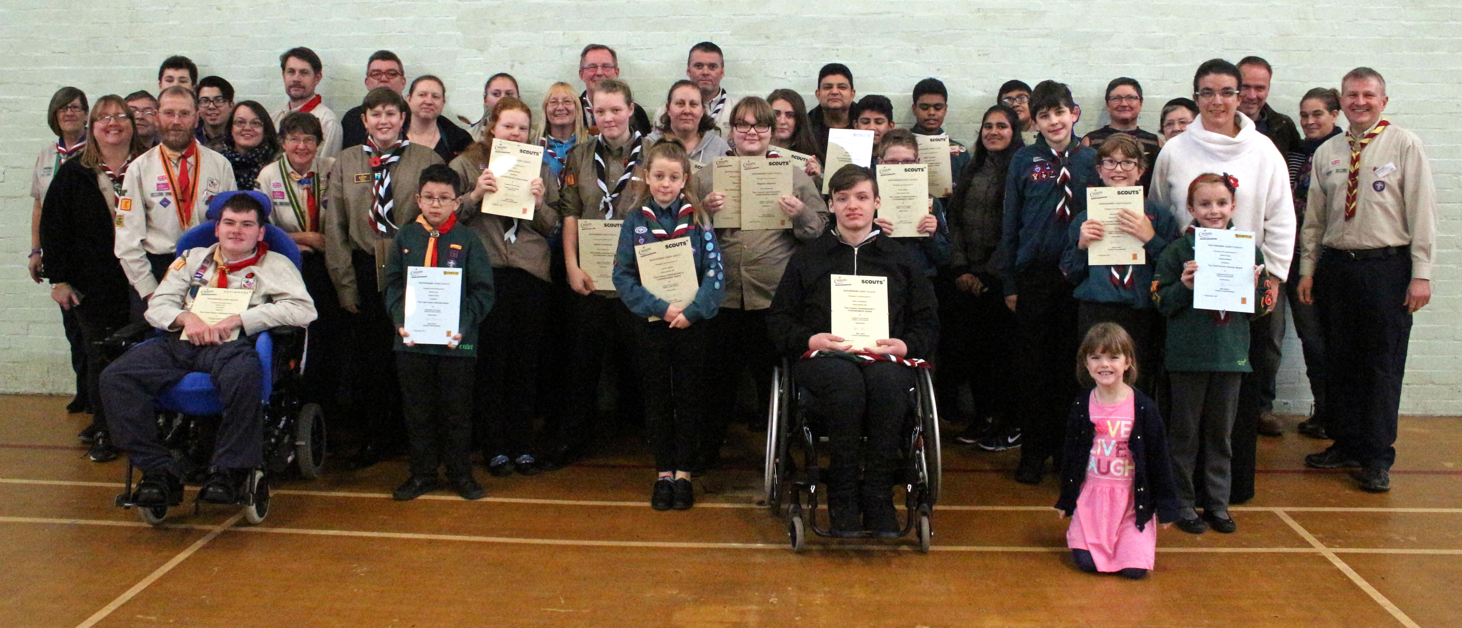 Bedfordshire County Award Presentation Day 2017