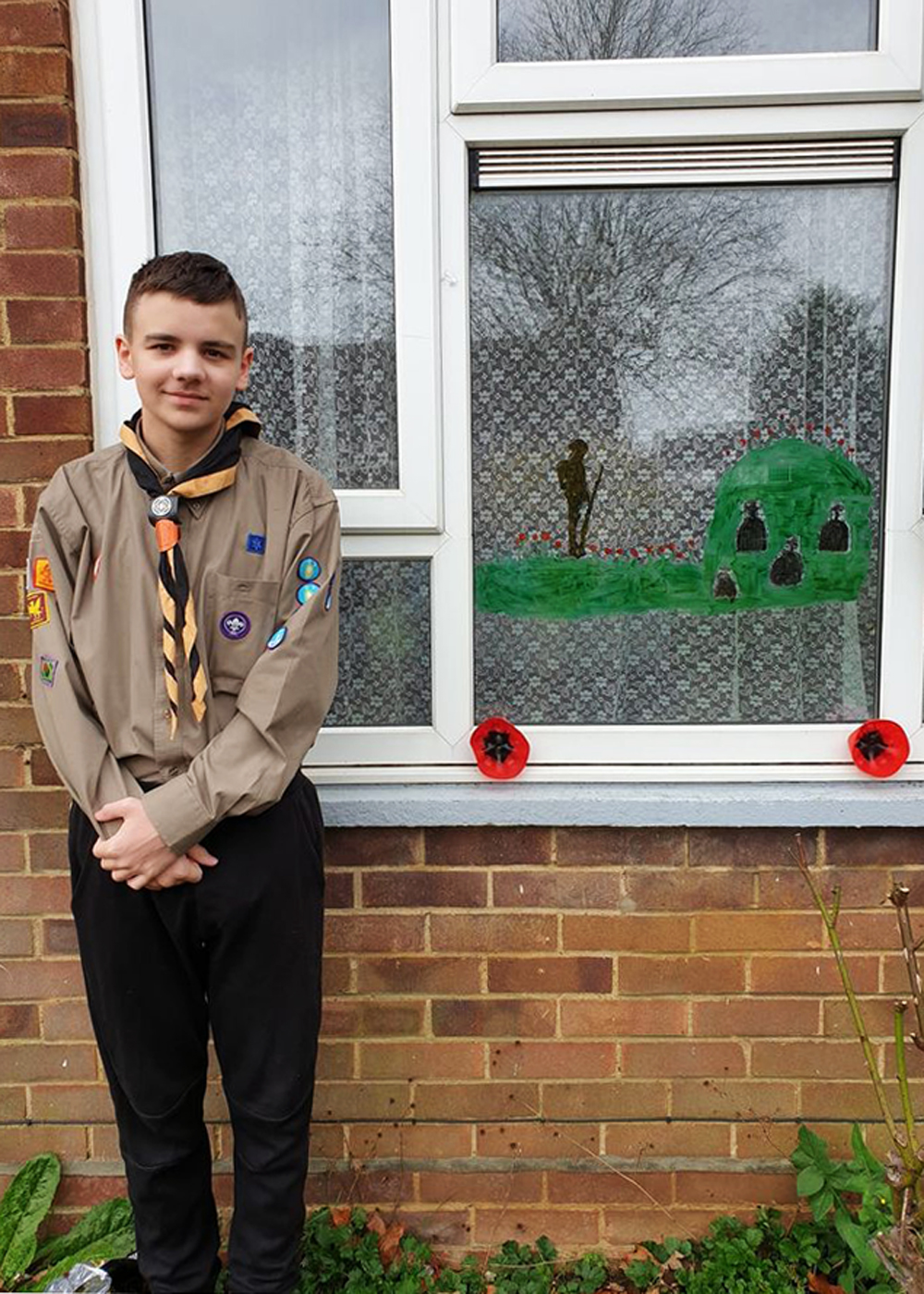 The Big Luton Scouts Doorstep Remembrance