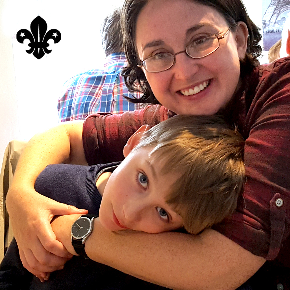 Dying mum saved by Cub Scout son's prompt emergency aid