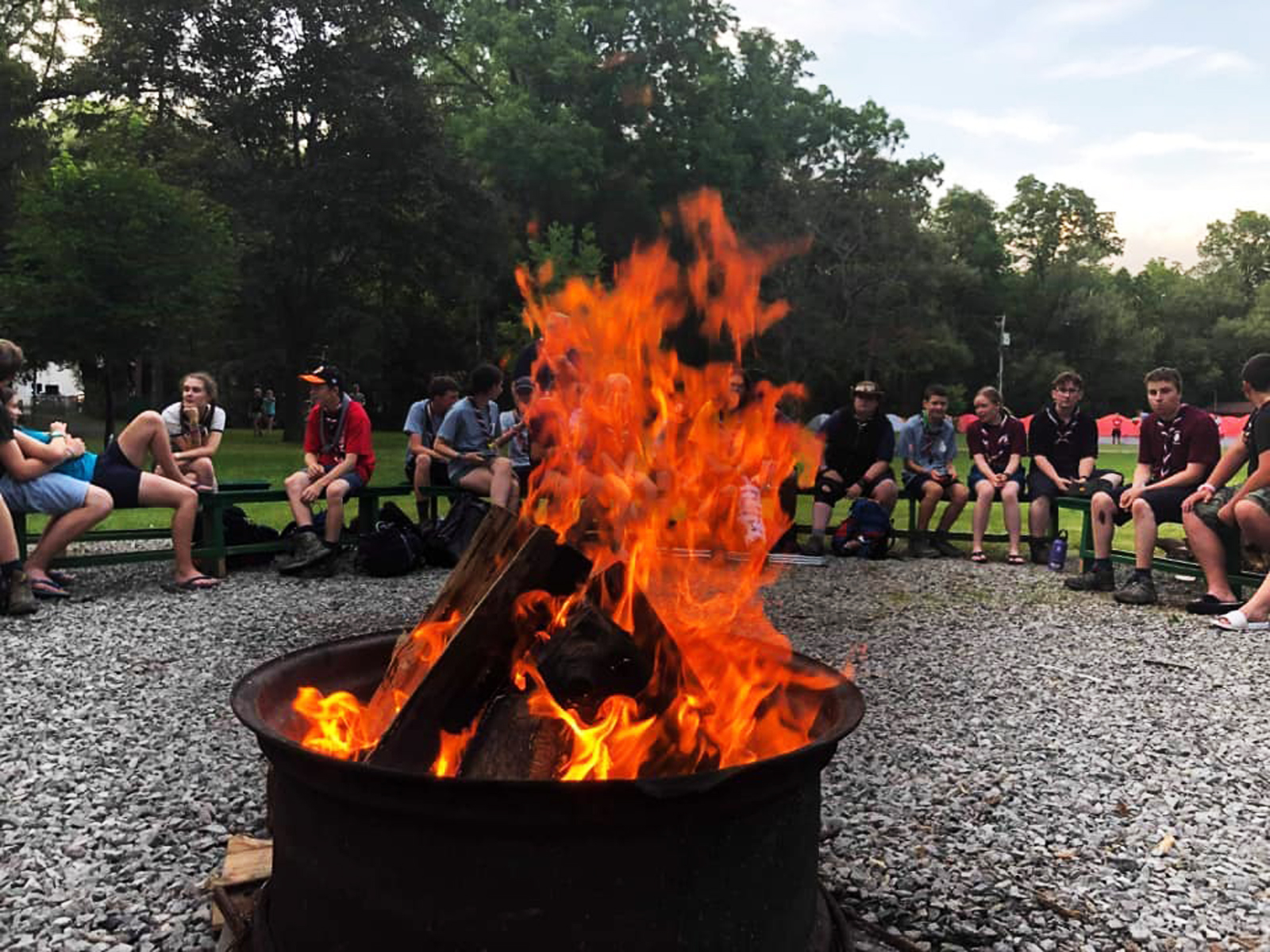 Luton Scout Wins Camp Wetaskiwin (Canada) Photo Competition